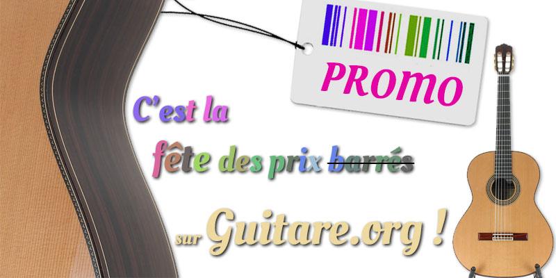 Promotion sur guitare.org